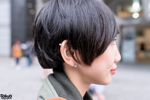 Ear Piercings in Shinjuku