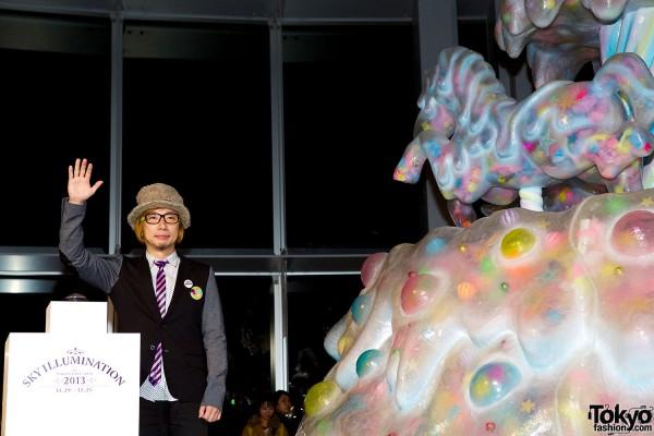"""Kawaii """"Melty Go-Round"""" Christmas Tree Debuts at Roppongi Hills"""