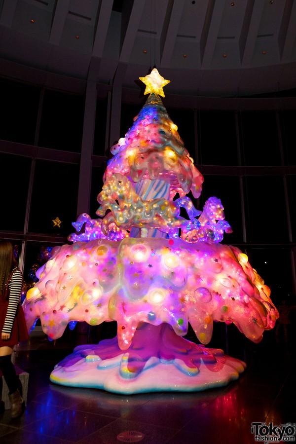 Árvore de Natal de Kawaii em Tóquio
