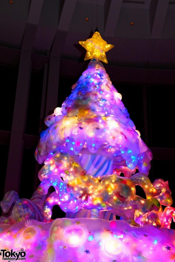 Melty Go-Round Árvore de Natal em Tóquio (9)