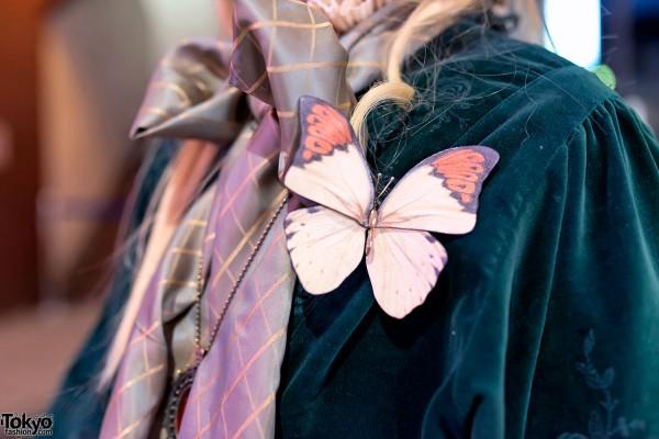 Butterfly Brooch in Harajuku