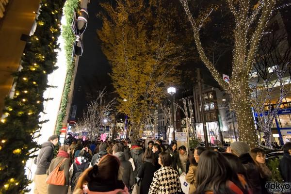 Harajuku Christmas – Omotesando Illumination Pictures 2013