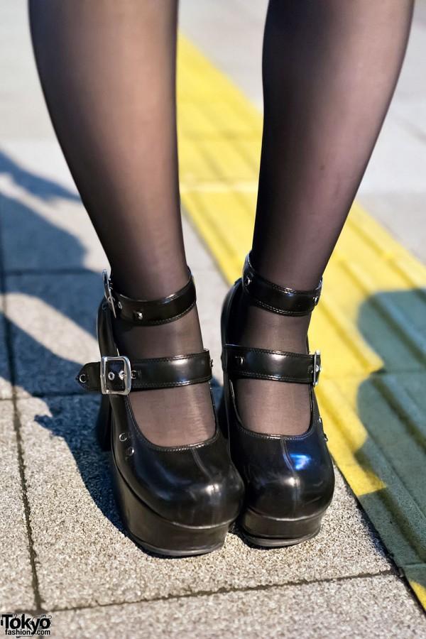 Yosuke Platform Heels