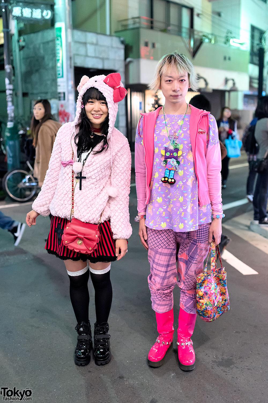 Pink Kawaii Harajuku Street Styles