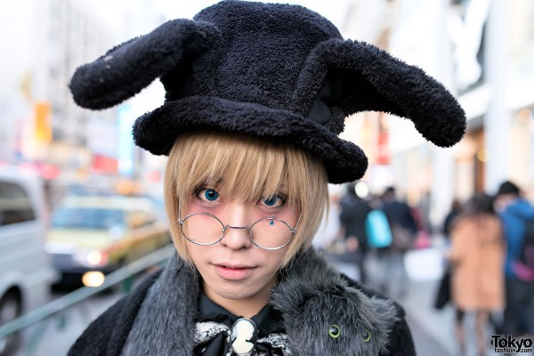 Rabbit Ears Hat in Harajuku