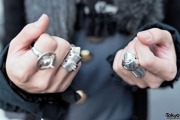Vivienne Westwood Silver Rings