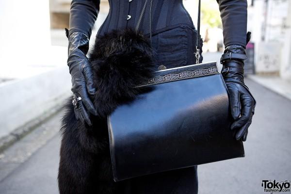 Vintage Black Purse