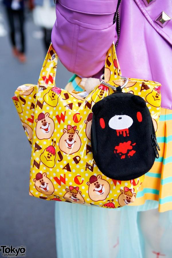 WC by Wakatsuki Chinatsu Tote Bag