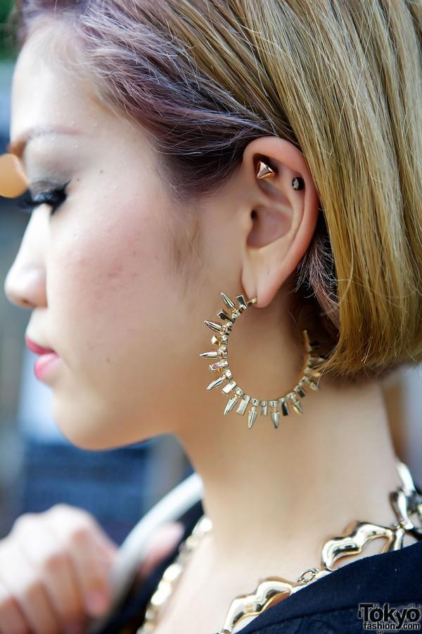 Hoop Earrings & Studs