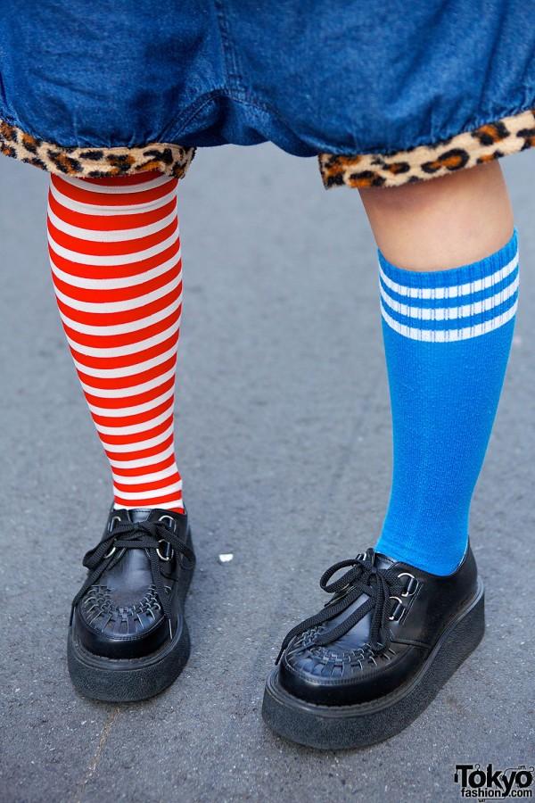 Mismatched Socks & Bodyline Creepers