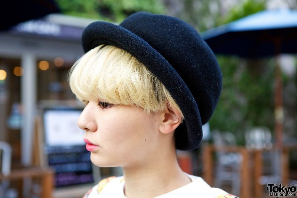 Bowler Hat in Harajuku