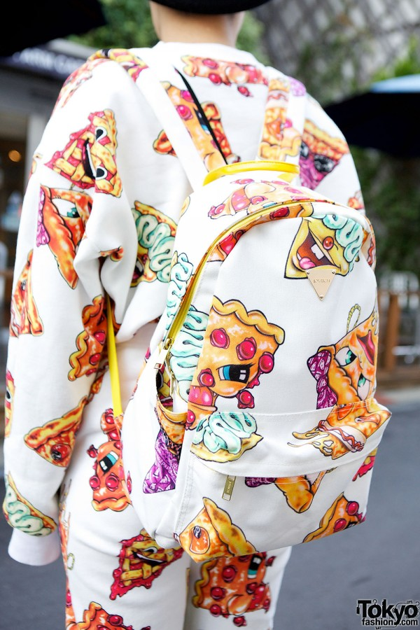 Joyrich x Malcolm Stuart Pizza Backpack