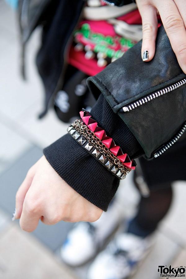 Studs & Chain Bracelets