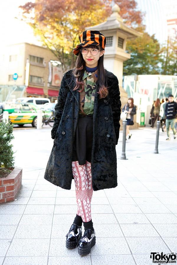 Resale Furry Coat & Rolick Skirt