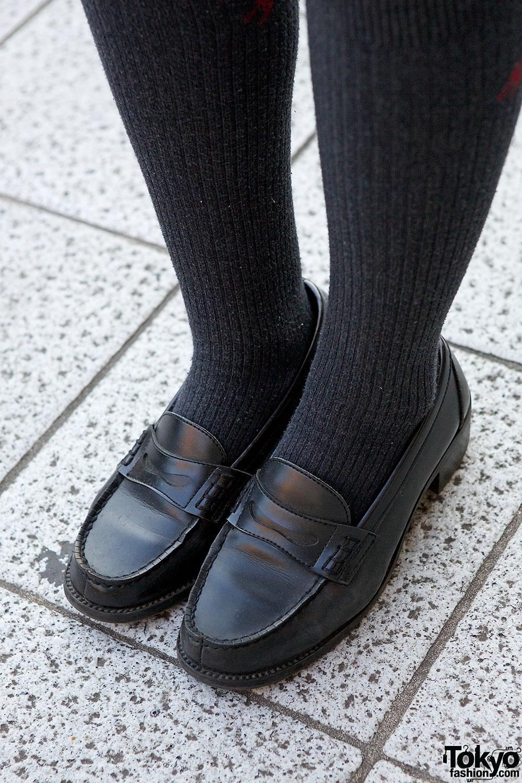 Japanese School Uniform Loafers Tokyo Fashion News
