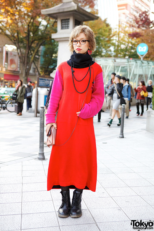 Kinji Colorblock Dress