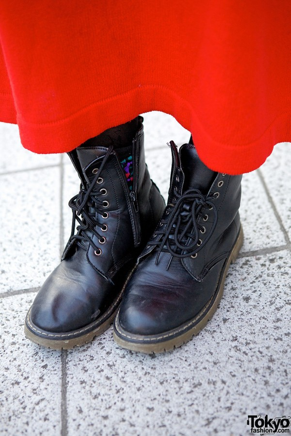 Lace-up Boots With Dress