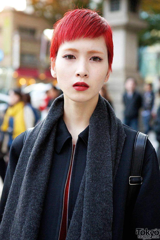 Red Hair Eyebrows Amp Lips Tokyo Fashion News