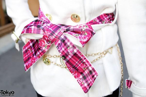 Pink Sash