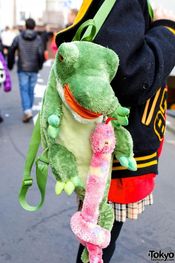 6%DokiDoki Dinosaur Backpack