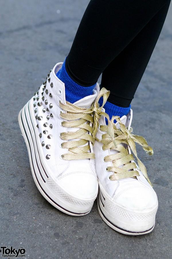 Spinns Harajuku Platform Sneakers