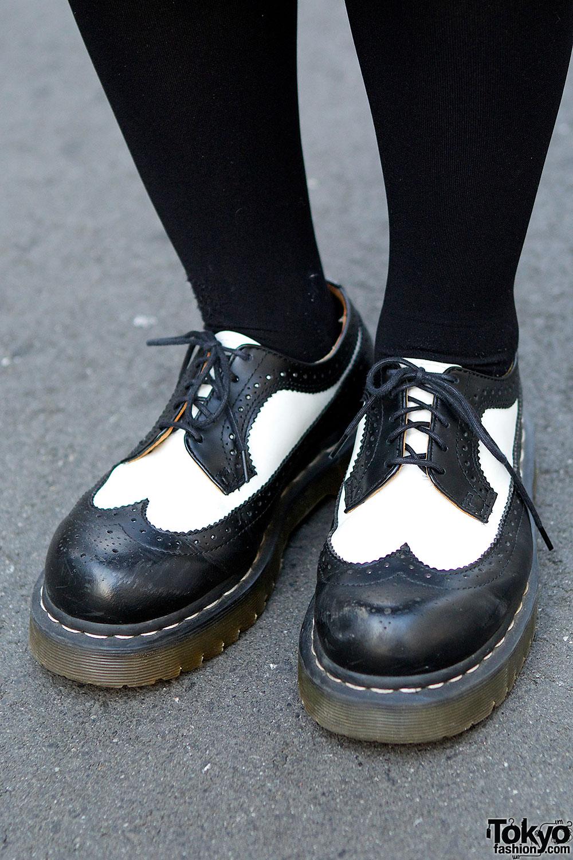 Harajuku Girls Wearing Galaxxxy, Led Zeppelin, Long Socks