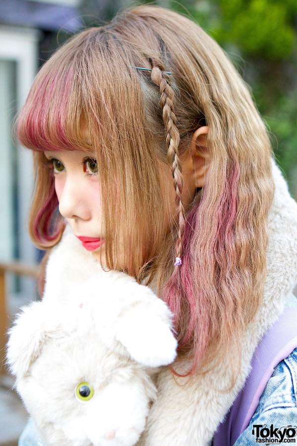 Blond Purple Hair