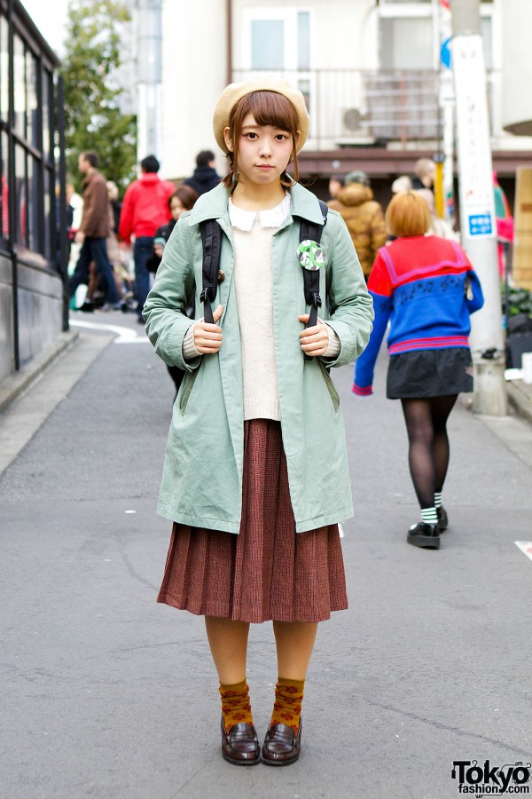 Vintage Style in Harajuku
