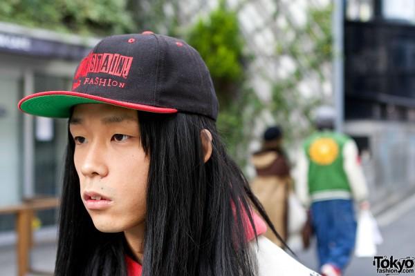 Long Hair & Buttstain Cap