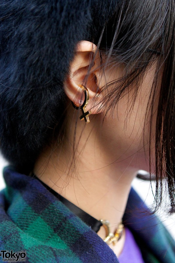 Female Symbol Earring