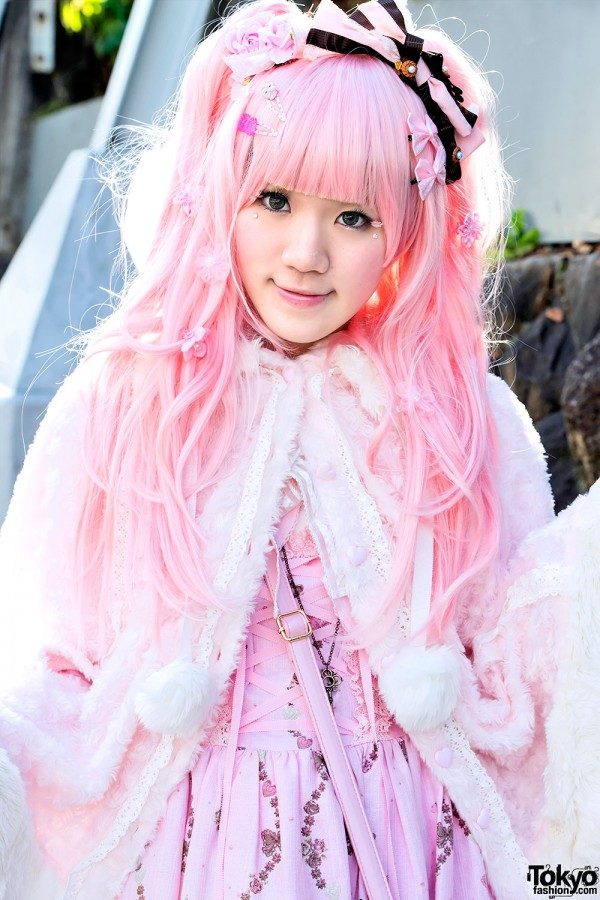 Pink Hair & Baby The Stars Shine Bright Fashion