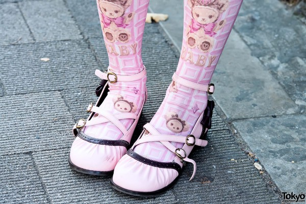 Baby The Stars Shine Bright Tights in Harajuku