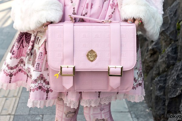 Pink Lolita Satchel Bag