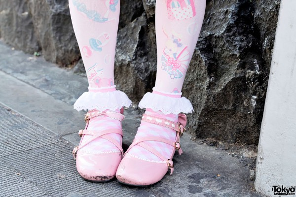 Angelic Pretty, Ruffle Socks & Lolita Shoes