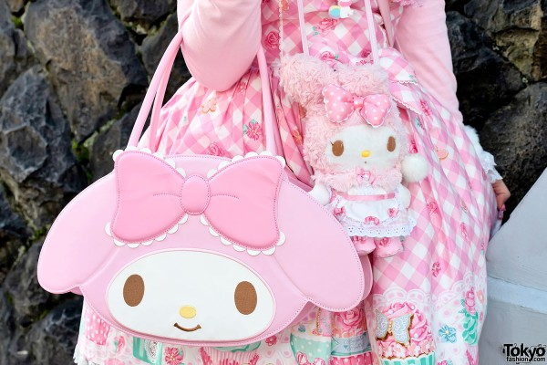 My Melody Purse & Plush in Harajuku