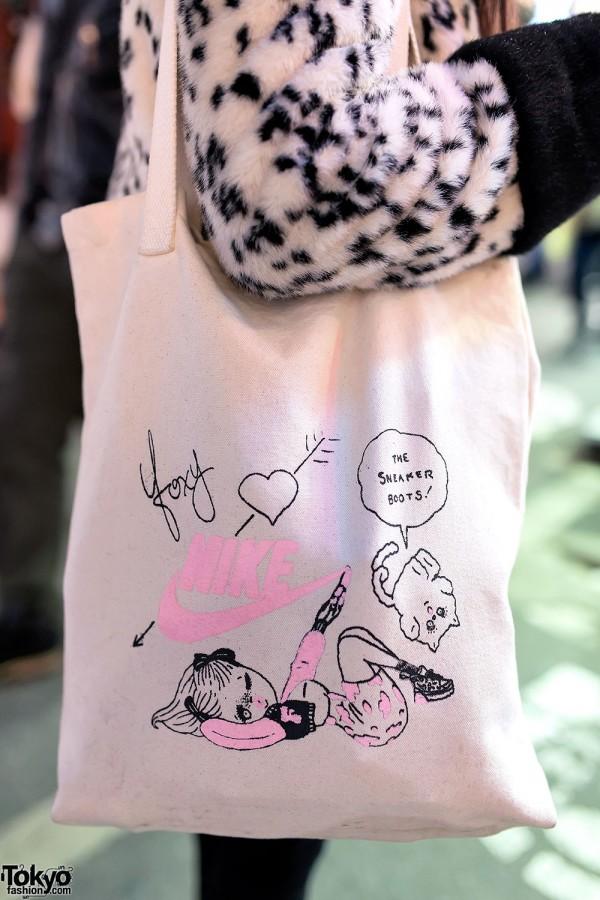 Foxy x Nike Tote Bag