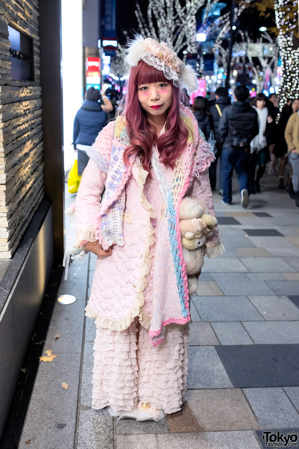 Pretty Pink Cult Party Kei Fashion