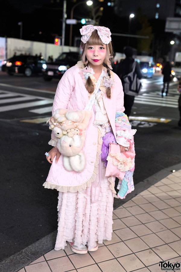 Pretty Pastel Fashion in Harajuku