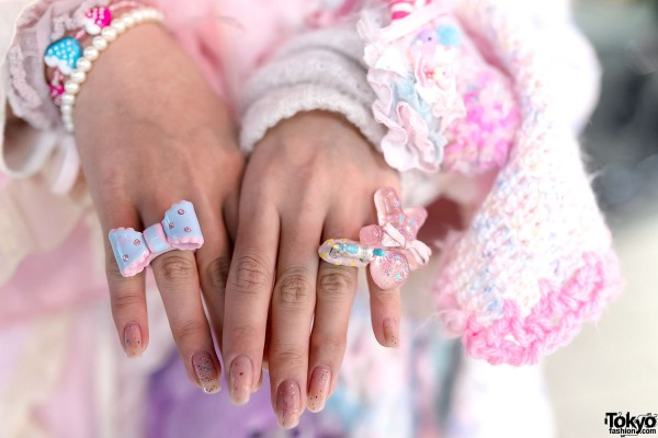 Angelic Pretty Pastel Heart Ring