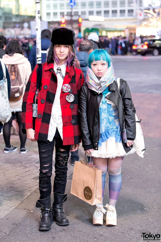Devilish Designers W Metallic Muffler Spikes Leather Harness In Shibuya