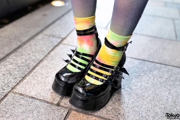 Colorful Socks & Bodyline Platforms