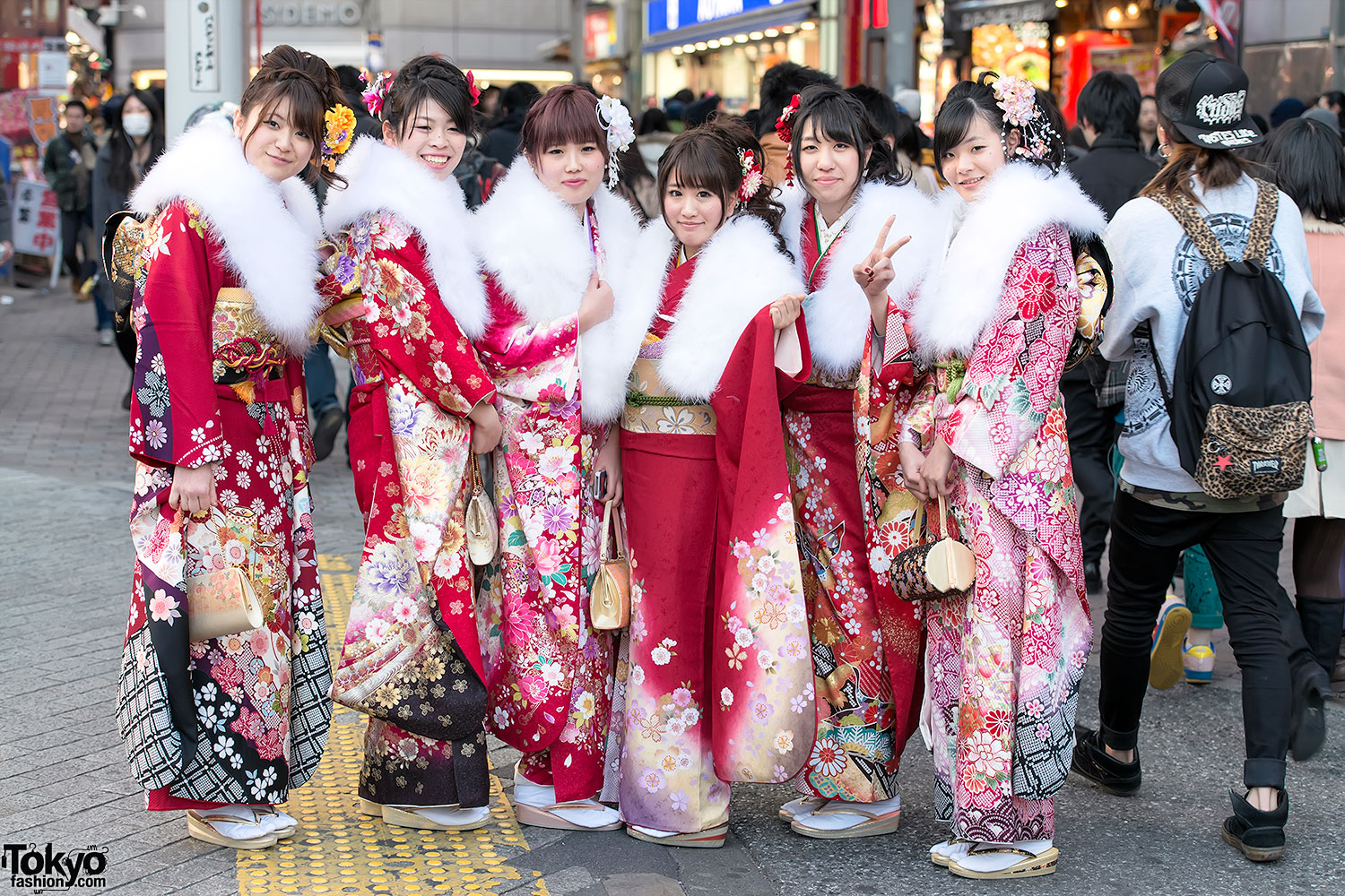 Coming of Age Day Kimono in Japan (1)