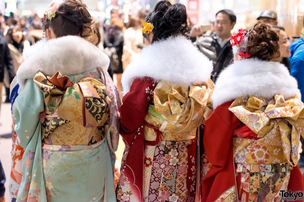 Coming of Age Day Kimono in Japan (3)