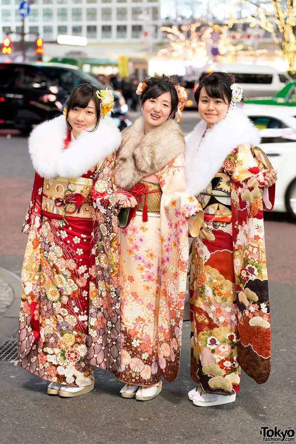 Coming of Age Day Kimono in Japan (4)