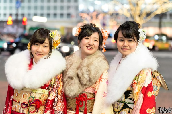 Coming of Age Day Kimono in Japan (5)