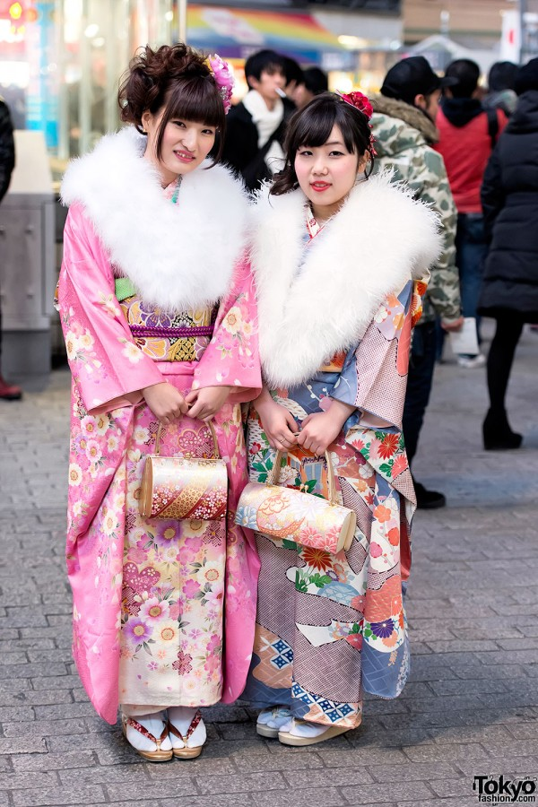 Coming of Age Day Kimono in Japan (6)