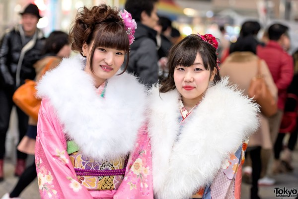 Coming of Age Day Kimono in Japan (7)