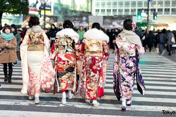Coming of Age Day Kimono in Japan (8)