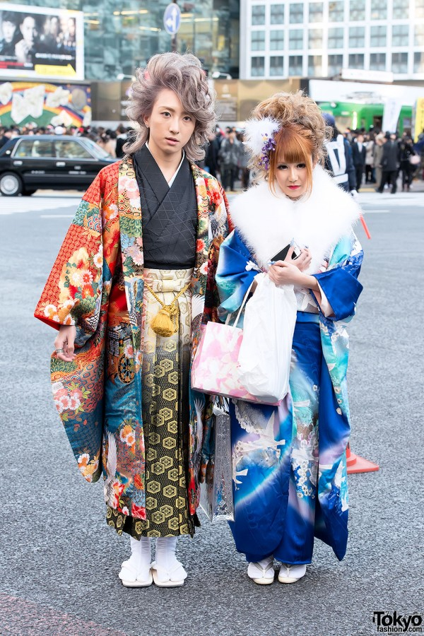 Coming of Age Day Kimono in Japan (9)