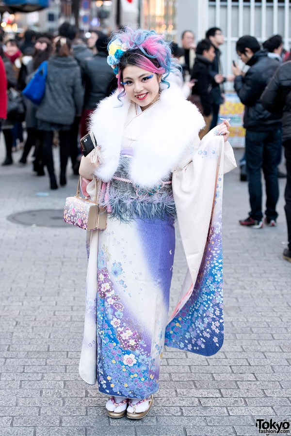 Coming of Age Day Kimono in Japan (13)
